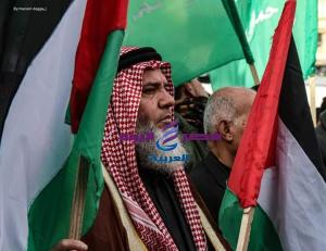 صور.. فلسطينيون يشاركون في فعالية - صور.. فلسطينيون