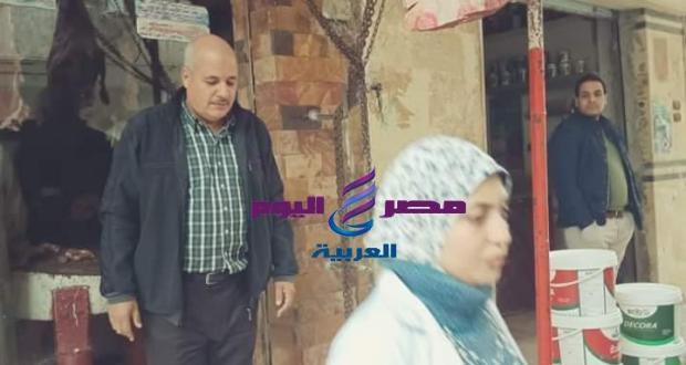 حملة مشتركة من مجلس مدينة الحسينية والتموين والصحة والطب البيطري بالحسينية   حملة مشتركة