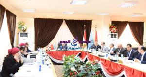 محافظ بورسعيد يترأس اجتماع مجلس ادارة المنطقة الصناعية | بورسعيد