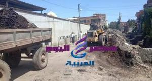 اللواء خالد حسن وإستجابة فورية بإنهاء مشكلة أهالى القرية