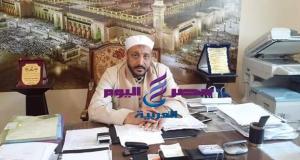 مدير إدارة أوقاف المنتزة يهنئ، الرئيس السيسى والقوات المسلحة بذكرى انتصارات العاشر من رمضان