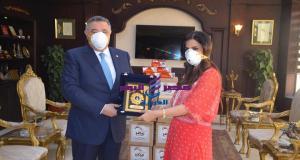 """محافظ البحر الأحمر يستقبل رئيس """"بنحبك يا مصر"""" ويثمن جهود منظمات المجتمع المدنى"""