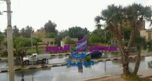 عاجل :عواصف ترابية وأمطار تضرب الوادي الجديد الآن   عاجل