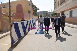اللواء أسامه القاضى محافظ المنيا يتابع سير إمتحانات الثانوية العامة