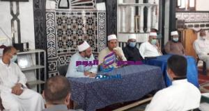 مدير الدعوة بالإسكندرية.. يجتمع بإدارتى أوقاف المنتزة والرمل.