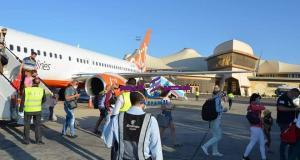 مطار شرم الشيخ الدولى يستقبل أول الرحلات السياحية القادمة من اوكرانيا