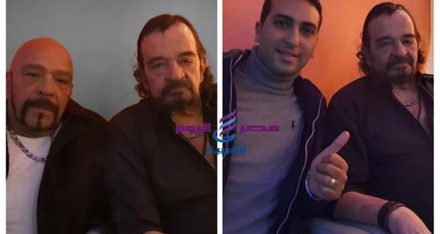 ياسر منصور ومحمد كامبا يهنئان جرير منصور بعيد ميلاده   ياسر منصور