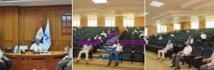 مجلس عمداء جامعة كفر الشيخ باجتماعة الشهرى تشجيع الباحثين محليا ودوليا