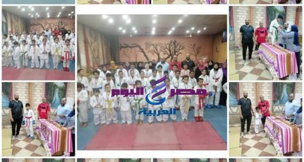 تكريم الفائزين في البطولة الكاراتيه الألعاب الفردية بمركز شباب عين الصيرة | البطولة الكاراتيه