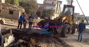 استمرار أعمال الرصف ورفع كفاءة الطرق بشوارع مدن وقرى كفرالشيخ