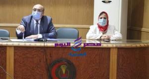 نائب رئيس جامعة المنصورة يناقش الاستعدادات للعام الدراسي 2020 / 2021 | جامعة المنصورة