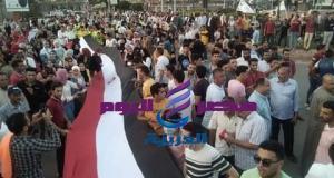 إحتفال الشعب المصرى بنصر أكتوبر العظيم