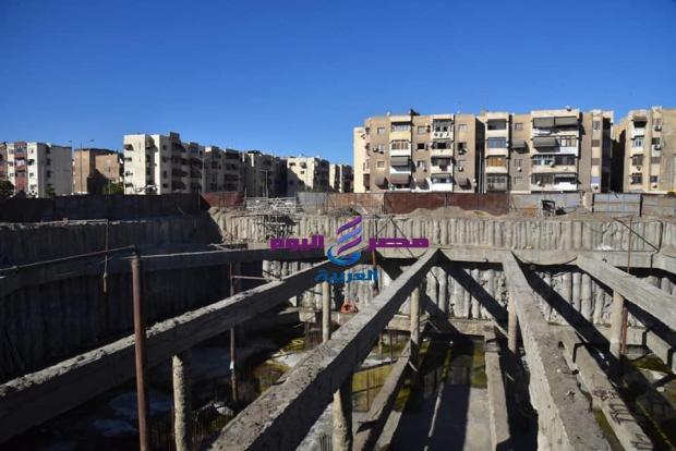 محافظ بورسعيد يتابع سير العمل باحدي المشروعات السياحية بالمحافظة ( جرين ويفز)