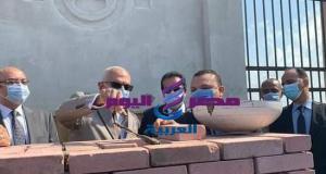 وضع حجر الاساس لجامعة المنصوره الاهليه بجمصه بحضور وزير التعليم العالي | حجر الاساس