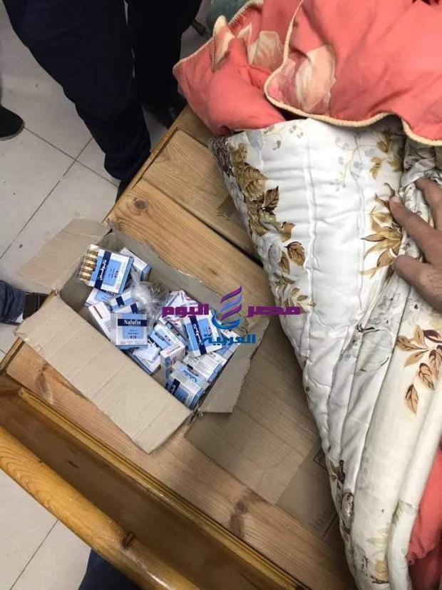 ضبط تلاعب بعهدة الأدوية المخدرة بمستشفي خاص بأبو كبير