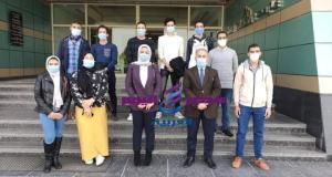 تعاون بين كليه العلوم جامعة المنصورة وشركة غاز مصر لتدريب طلاب برنامج البتروكيماويات | كليه