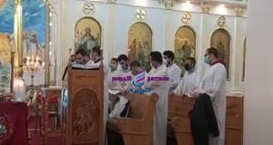 الانبا كاراس يترأس قداس عيد الغطاس المجيد بالمحلة وسط إجراءات إحترازية مشددة | الانبا
