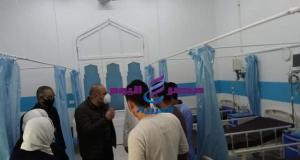 ٨ سرير جاهزين بمستشفي الحميات بالمحلة كاهداء من رجال اعمال شريف العربي