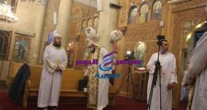 الانبا كاراس اسقف عام المحلة يترأس قداس عيد الميلاد المجيد | الانبا كاراس