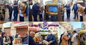 رئيس مدينة دسوق تقود حملة لمتابعة الاجراءات الاحتزارية بدسوق | مدينة