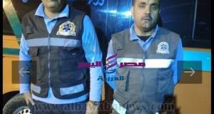 عاجل موظف اسعاف وسائق يسلمان 392 ألف جنيه عثرا عليها بحوزة مصاب في طنطا | اسعاف
