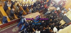 تشيع 6 جثامين ضحايا العقار المنهار في منطقة ابوراضي بالمحلة الكبرى   جثامين