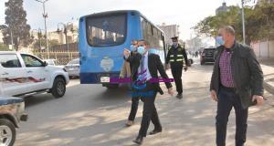 حملة مفاجئة من رحمى لمتابعة تطبيق الإجراءات الاحترازية بمدينة طنطا. | حملة