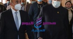 رئيس جامعة الزقازيق يستقبل رئيس وأمين سر لجنة الشئون الدينية بمجلس النواب المصري.