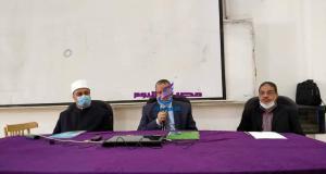 """""""الشرقاوي"""" و """"راضي"""" يشهدان انطلاق الدورات التدريبية لأئمة ووعاظ الأوقاف السويس"""