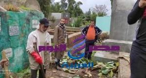 تنظيف مقابر قرية شباس الملح بسواعد شبابها | تنظيف