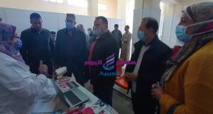 تقديم الكشف الطبى المجانى في كافة التخصصات لاهالى مدينة برج العرب