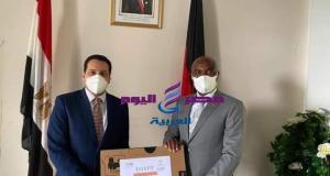 السفير المصري في مالاوي يسلم مساعدات لوجيستية لإنشاء أكاديمية لتدريب الدبلوماسيين
