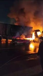 حادث مرعب الآن على الطريق الدائري بحلوان أدى إلى مصرع شخصين وإصابة ٦ آخرين | حادث