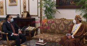 رئيس الوزراء يلتقى سفير سلطنة عمان الجديد لدى مصر
