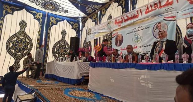 في إطار المبادرة الرئاسية حياة كريمةقافلة سكانية شاملة بقرية توفيق الحكيم بالوحدة المحلية | المبادرة الرئاسية