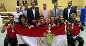 سفير مصر في الكاميرون يستقبل بعثة المنتخب القومي للكيك بوكسينج | سفير مصر