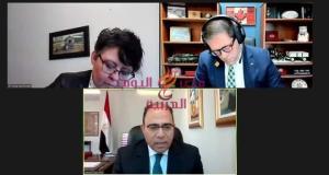 سفير مصر في كندا يجري لقاءات مع أعضاء البرلمان الكندي بشأن سد النهضة | سفير