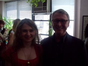 With Mike Nichols '08