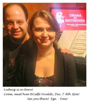 DRAMA in BEETHOVEN '13 - '14