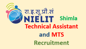 Read more about the article NIELIT Shimla Recruitment-2020