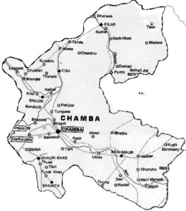 Brief Geography of District Chamba -HP
