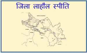 Brief Geography of District Lahaul Spiti – HP
