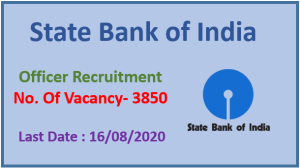 Officer Recruitment in State Bank of India