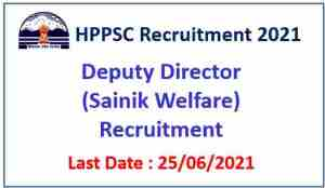 Read more about the article HPPSC Shimla Recruitment 2021 : Apply for 07 Deputy Director Posts