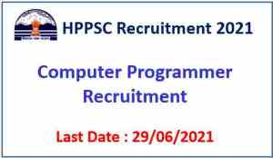 Read more about the article HPPSC Shimla Recruitment 2021 – 01 Computer Programmer Post