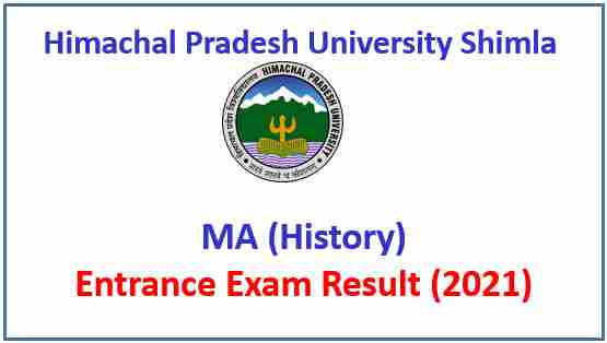 Read more about the article HPU Shimla MA History Entrance Test Result 2021