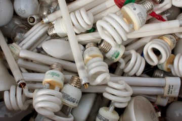 light bulb waste