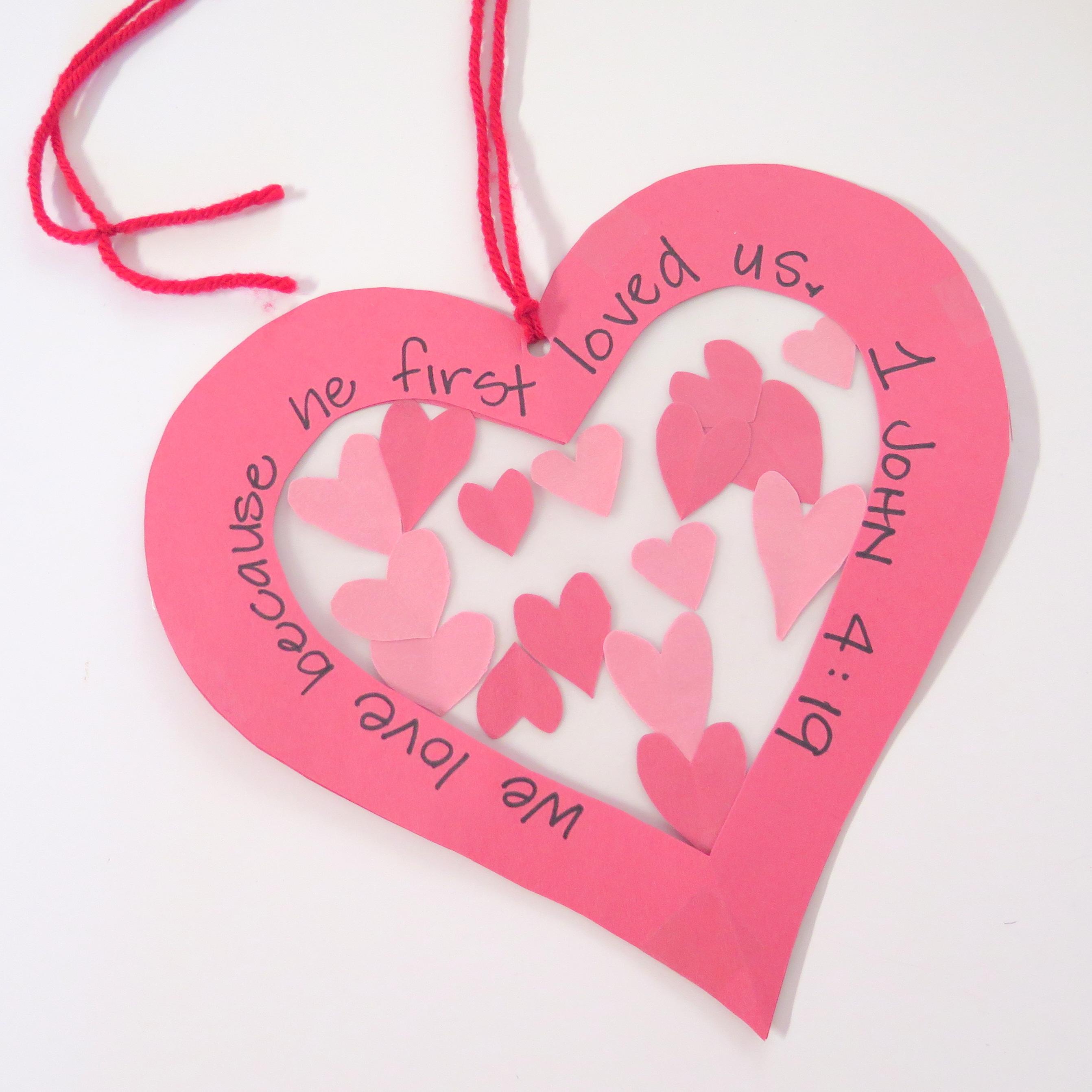 Valentines Day Suncatcher Egglo Entertainment