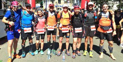Le club des Run and Trail Harengs 76 (avec Mathieu coureur pieds-nus)