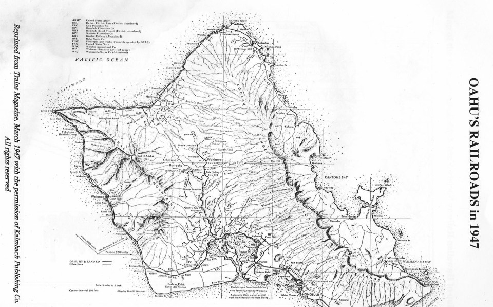 Hawaiian Railway 夏威夷鐵路之旅 Ewa to Kahe Point